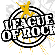 League of Rock logo.