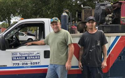 Trailer Suspension Repair