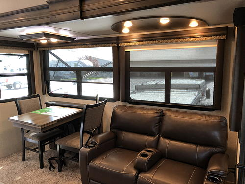 Dinette and Power Recliners in Our Montana 3120RL
