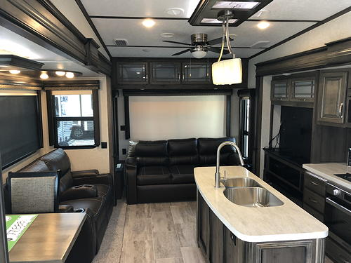 Interior View of Rear of Our Montana 3120RL